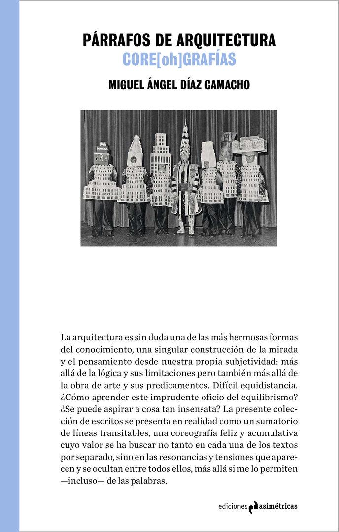 P rrafos de arquitectura miguel ngel d az camacho for Ediciones asimetricas